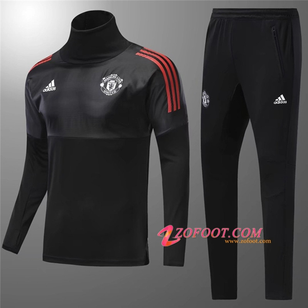 ensemble de foot Manchester United noir