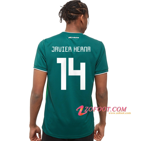 Maillot Football Mexique Coupe de Monde 2018 (Javier Hernández 14) Domicile