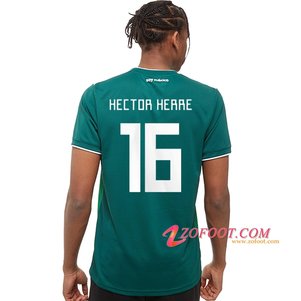 Maillot Football Mexique Coupe de Monde 2018 (Héctor Herrera 16) Domicile