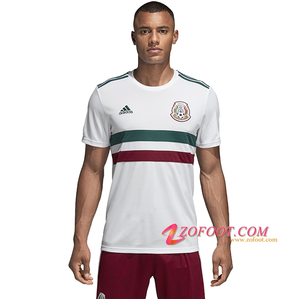 Maillot Football Mexique Coupe de Monde 2018 Exterieur