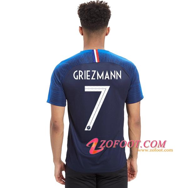 9a4535619ca5e Site Fiable | Nouveau Maillot Equipe France 2018 2019 (Griezmann 7 ...