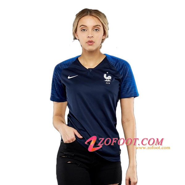 site fiable nouveau maillot equipe france femme coupe de monde 2018 domicile. Black Bedroom Furniture Sets. Home Design Ideas