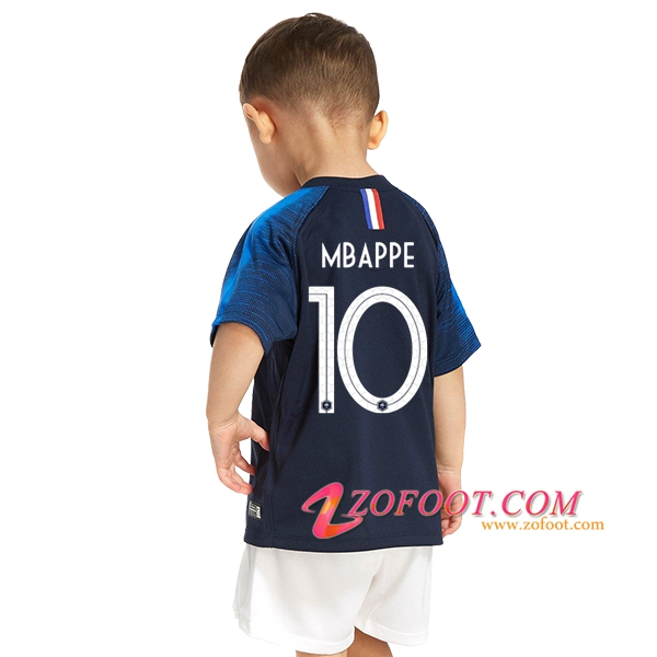 site fiable nouveau maillot equipe france enfant coupe de monde 2018 mbappe 10 domicile. Black Bedroom Furniture Sets. Home Design Ideas