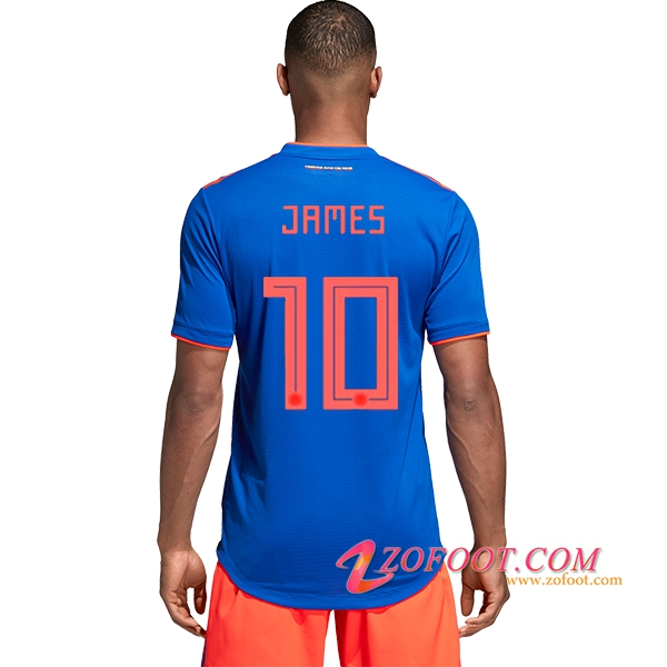 Maillot Football Colombie Coupe de Monde 2018 (JAMES 10) Exterieur