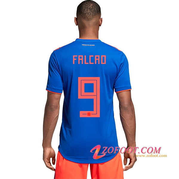 Maillot Football Colombie Coupe de Monde 2018 (Falcao 9) Exterieur