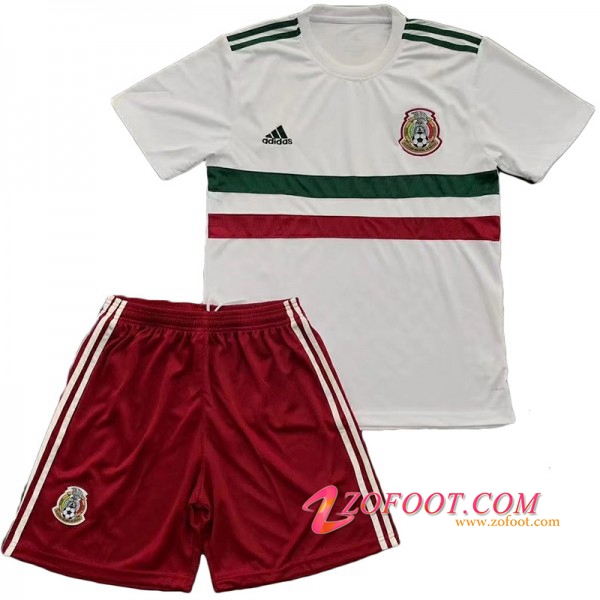 Maillot Football Mexique Enfant Coupe de Monde 2018 Exterieur