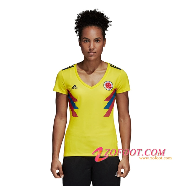 Maillot Football Colombie Coupe Du Monde 2018 Femme Domicile