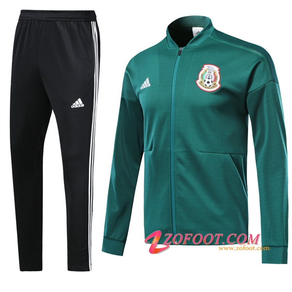 Survetement de Foot - Veste Mexique Vert 2018/2019