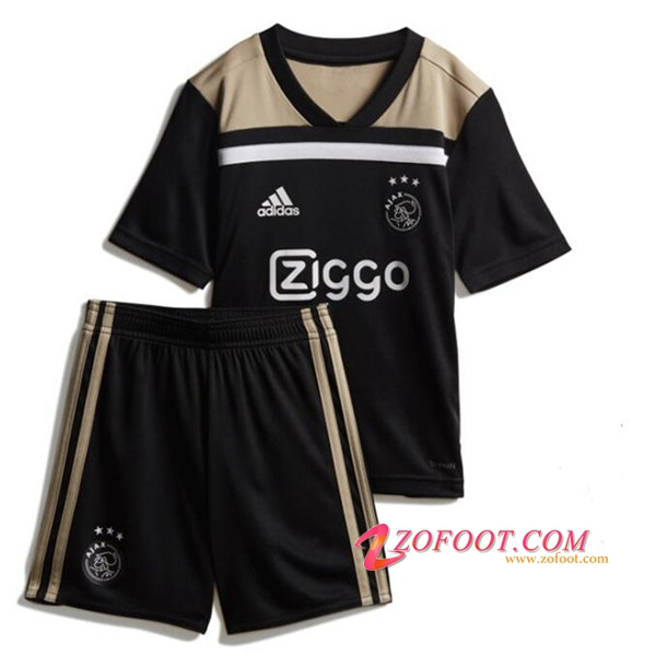 Ensemble Maillot + Short AFC Ajax Enfants Exterieur 2018/2019