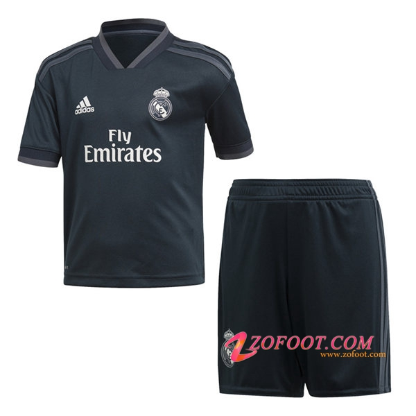 Ensemble Maillot + Short Real Madrid Enfants Exterieur 2018/2019