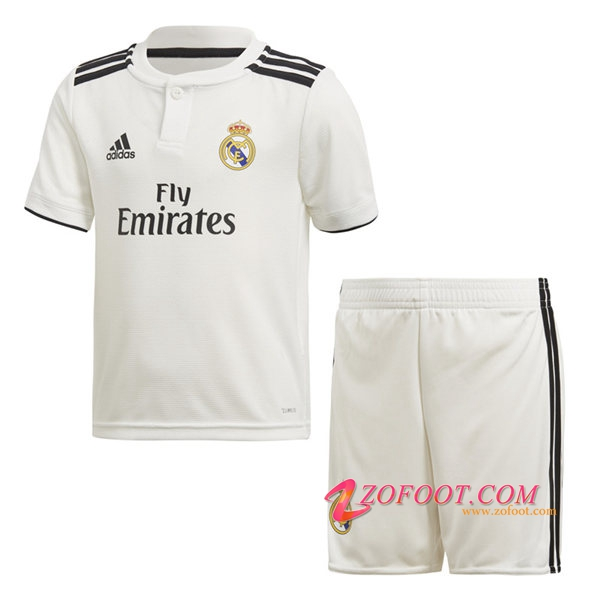 Ensemble Maillot + Short Real Madrid Enfants Domicile 2018/2019