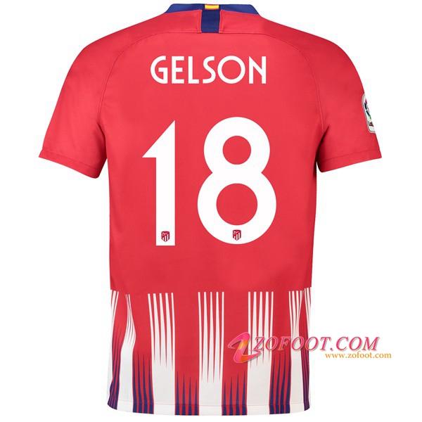 Maillot Extérieur Atlético de Madrid Gelson