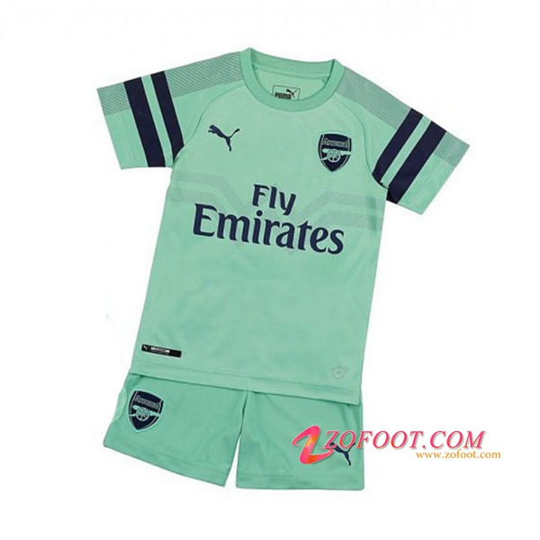 Ensemble Maillot + Short Arsenal Enfant Third 2018/19