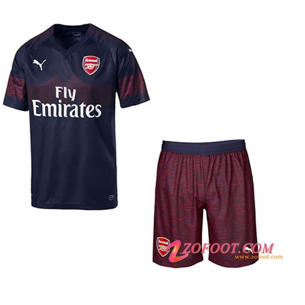 Ensemble Maillot + Short Arsenal Enfant Exterieur 2018/19