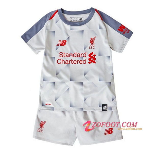 Ensemble Maillot + Short FC Liverpool Enfant Third 2018/19