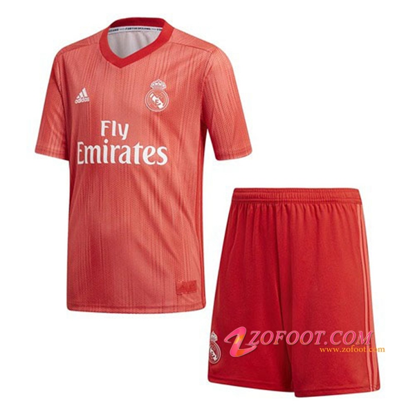 Ensemble Maillot + Short Real Madrid Enfant Third 2018/19