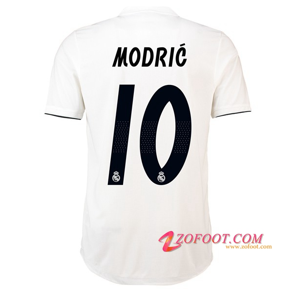 Maillot de Foot Real Madrid (10 MODRIC) Domicile 2018/2019