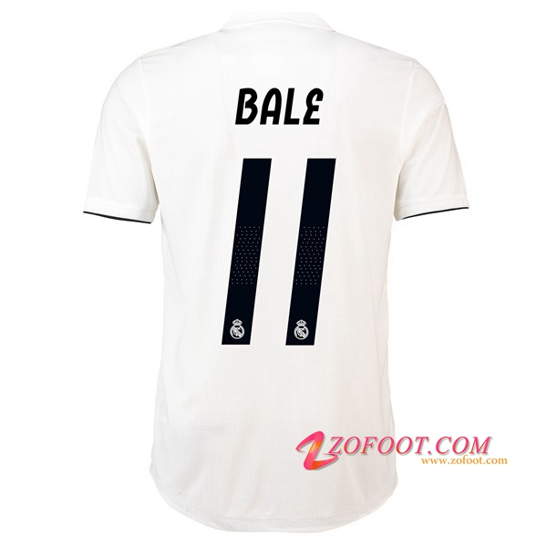 Maillot de Foot Real Madrid (11 BALE) Domicile 2018/2019