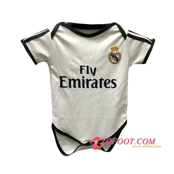 Maillot de Foot Real Madrid Bebe Domicile 2018/2019