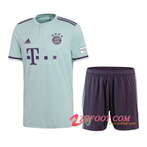 Ensemble Maillot + Short Bayern Munich Enfants Exterieur 2018/2019