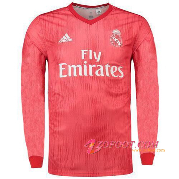 Maillot Foot Real Madrid Third Manche Longue 2018/19