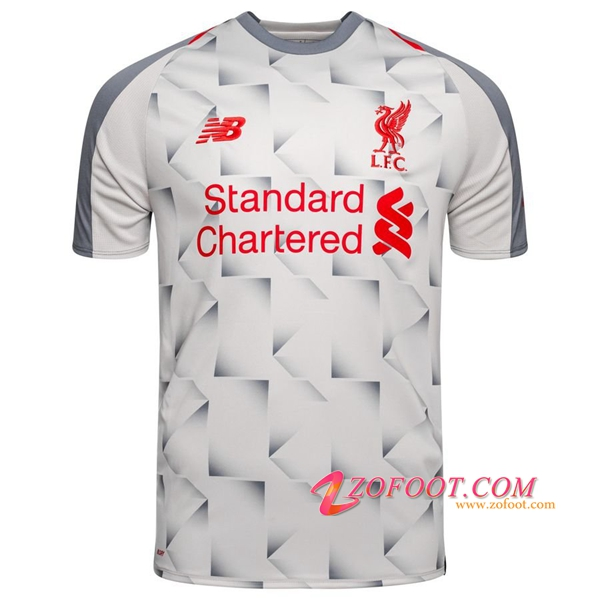 Maillot Foot FC Liverpool Third 2018/2019 (Grande Taille 2XL-4XL)