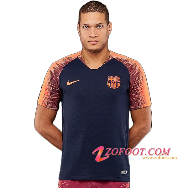 PRÉ MATCH Training FC Barcelone Bleu Fonce/Orange 2018/2019
