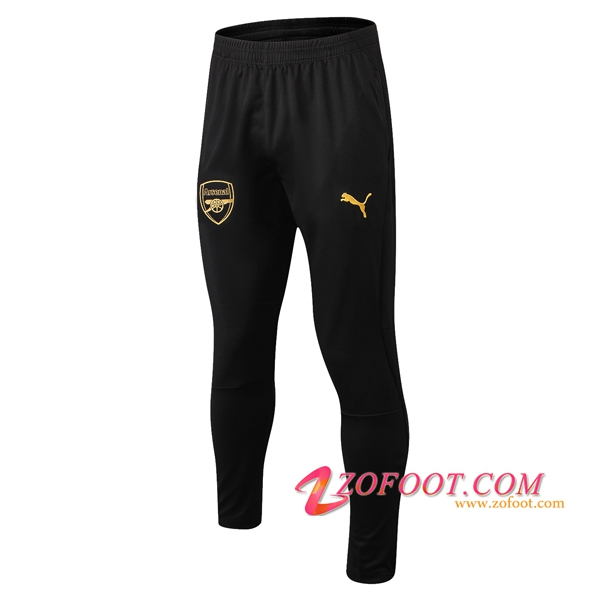 Training Pantalon Foot Arsenal Noir/Jaune 2018/2019