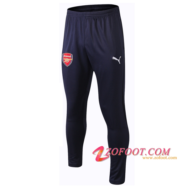 Training Pantalon Foot Arsenal Bleu Fonce 2018/2019