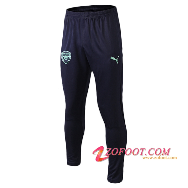 Training Pantalon Foot Arsenal Noir/Vert 2018/2019
