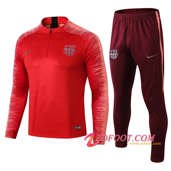 Survetement de Foot FC Barcelone Rouge Strike Drill 2018/2019