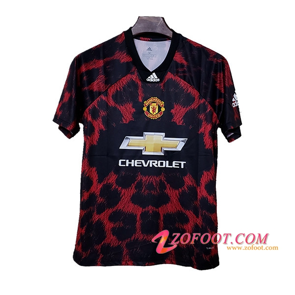 Maillot de Foot Manchester United Adidas X EA Sports Rouge/Noir 2019/2020