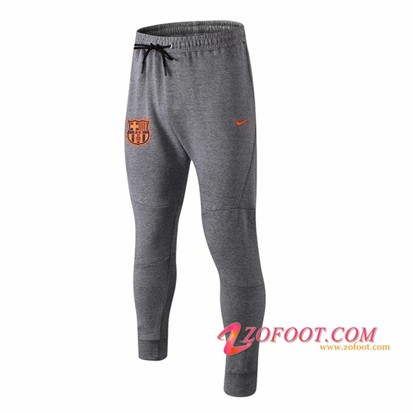 Training Pantalon Foot FC Barcelone Gris 2018/2019