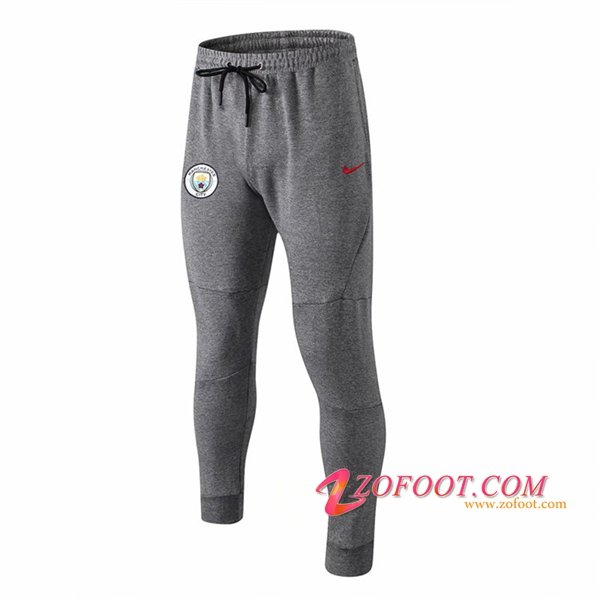 Training Pantalon Foot Manchester City Gris 2018/2019