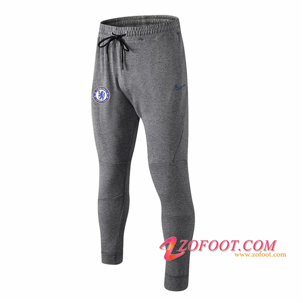 Training Pantalon Foot FC Chelsea Gris 2018/2019