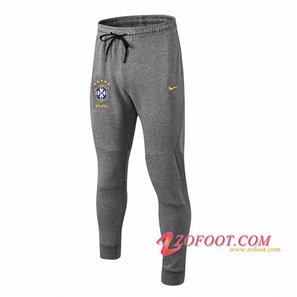 Training Pantalon Foot Brésil Gris 2018/2019