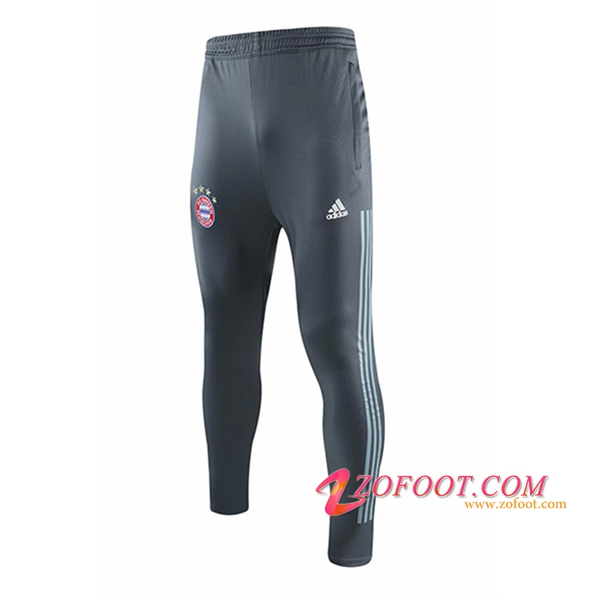 Training Pantalon Foot Bayern Munich Gris 2018/2019