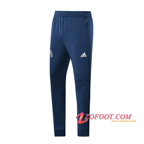 Training Pantalon Foot Manchester United Bleu 2018/2019