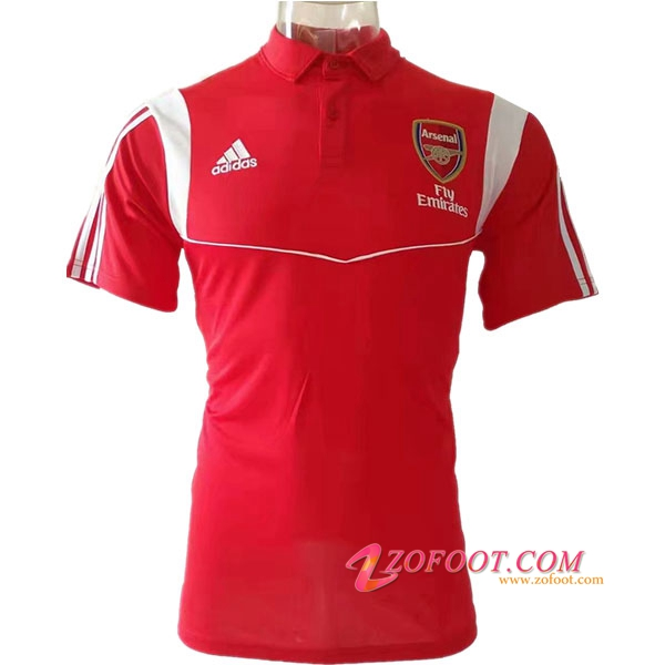 Polo Foot Arsenal Rouge 2019/2020