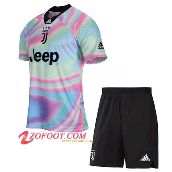 Ensemble Maillot + Short Juventus Enfants Adidas X EA Limited Edition