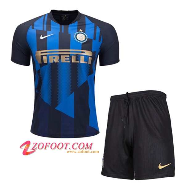 Ensemble Maillot + Short Inter Milan Enfants 20Eme Anniversaire