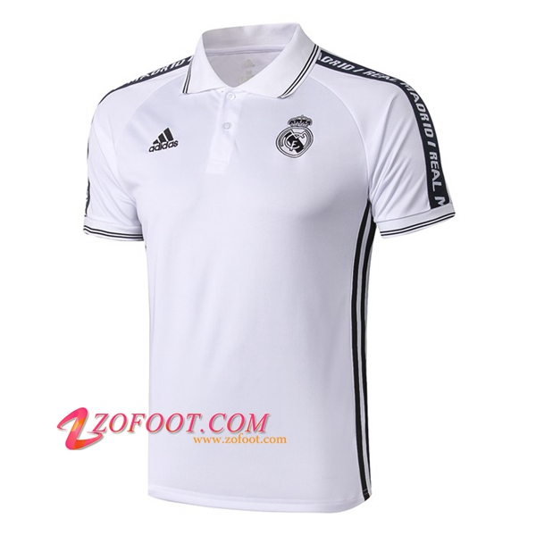 Polo Foot Real Madrid Blanc 2019/2020