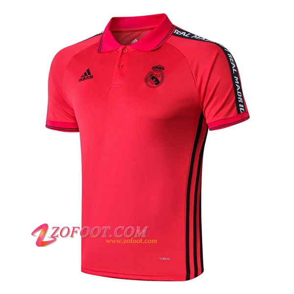 Polo Foot Real Madrid Rouge 2019/2020