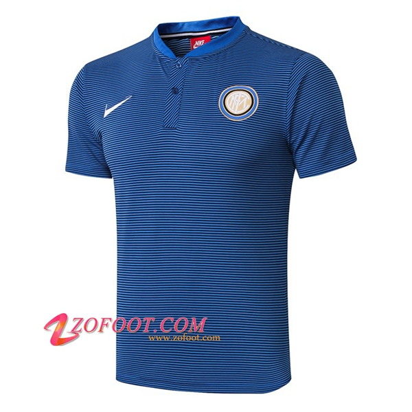 Polo Foot Inter Milan Bleu 2019/2020