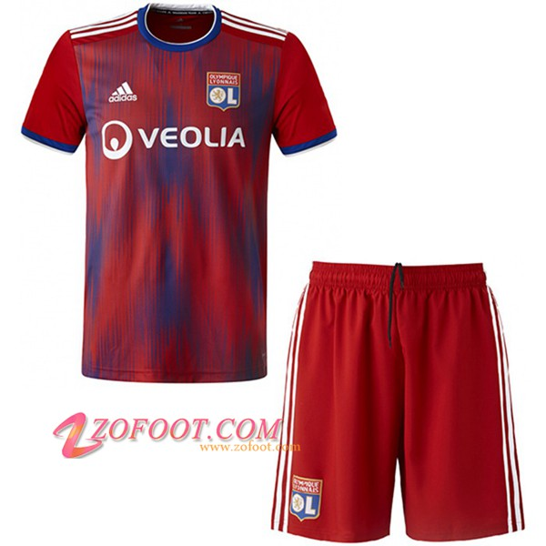 Ensemble Maillot + Short Lyon OL Enfants Third 2019/20