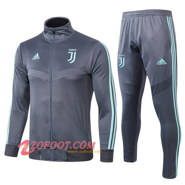Ensemble Survetement de Foot - Veste Juventus Gris 2019/2020