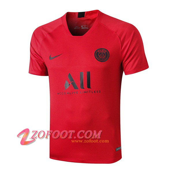 Training T-Shirts PSG ALL Rouge 2019/2020