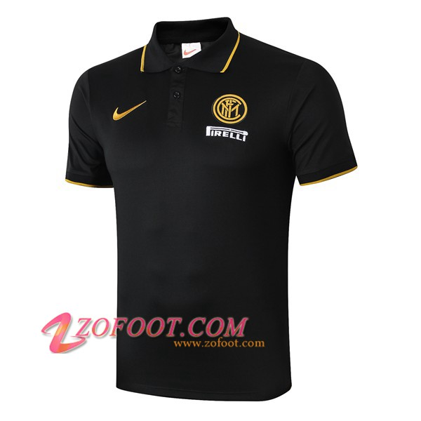 Polo Foot Inter Milan Noir 2019/2020