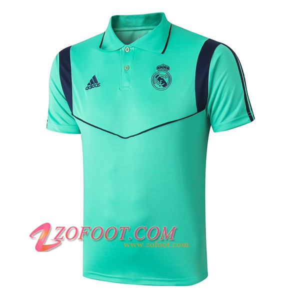 Polo Foot Real Madrid Vert 2019/2020