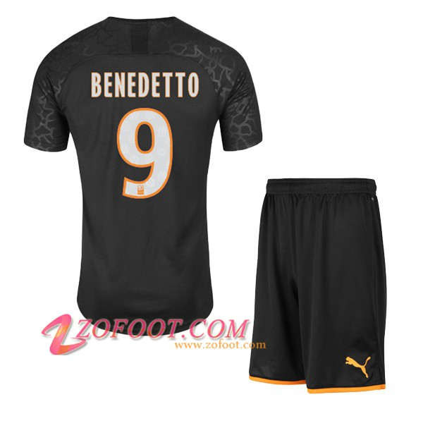 Maillot de Foot Marseille OM (BENEDETTO 9) Enfant Third 2019/2020